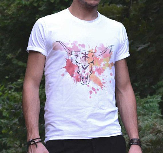 Cow Skull - printed t-shirt