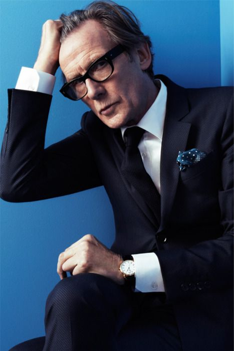#BillNighy. I can totally see him playing Uncle Jeremy in my script