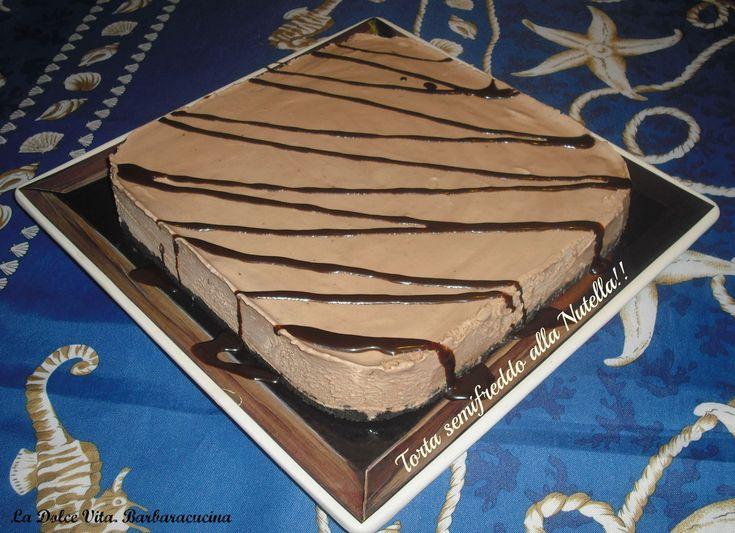 torta semifreddo alla nutella!!