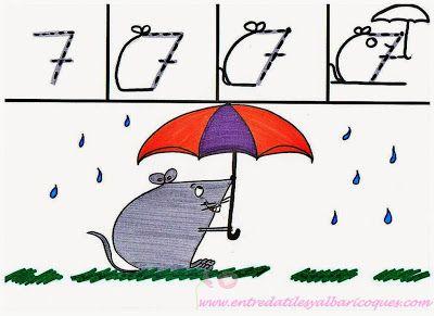 El 7: Un ratón bajo la lluvia
