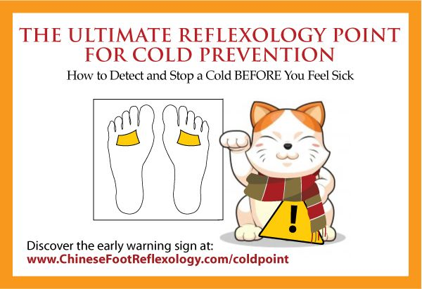 The Ultimate Reflexology Point for Cold Prevention