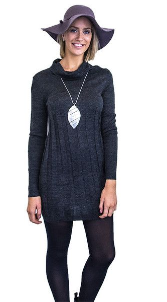 Grey Knit Tunic