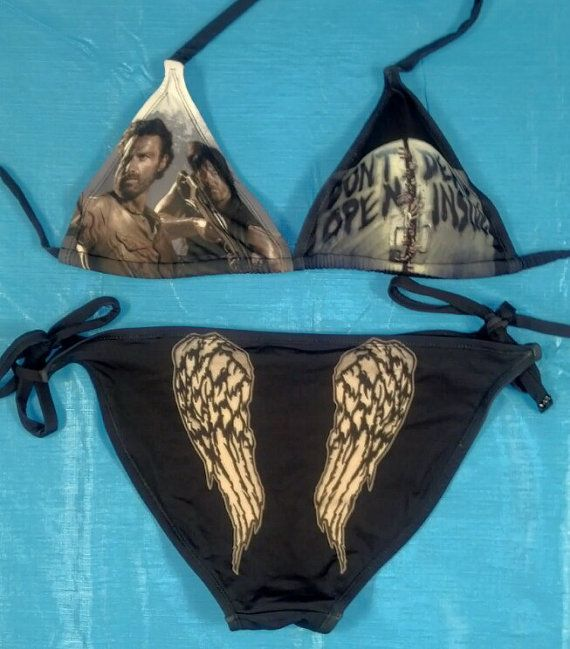 The Walking Dead Bikini. I seriously need to get my ass into shape so I can have this!!!!!