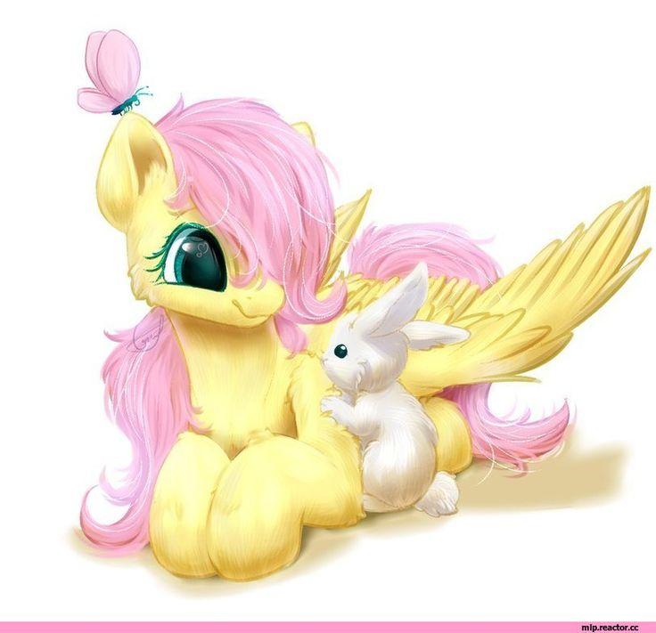 my little pony,Мой маленький пони,фэндомы,Fluttershy,Флаттершай,mane 6,mlp art,Angel (mlp),Кролик Энджел,mlp pets,minor