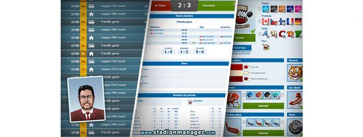 Stadion Manager (online ice hockey game) Play for free: www.stadionmanager.com #icehockey #onlinegame #hockeyplayer #hockeygame #hokej #hra #extraliga #spiele #eishockey #игра #Хоккей #кхл #НХЛ #khl #nhl #freegame #hockeylife #hokejista #sportmanager #冰球 #ホッケー #stadionmanager #لعبة #iceskating #leijonat #lätkä #jääkiekko #nhl #patinoire #pucklife #hockeycoach