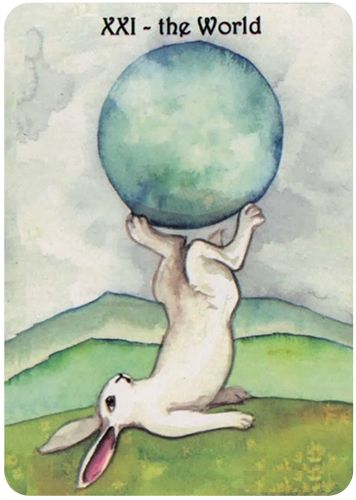 Free Daily Tarotscope — Dec 31, 2015 — The World -- Are you ready to turn over a new leaf? Put the past behind you and turn your life around?  As we come to the end of 2015, you may be thinking about what you want to do differently as you move ahead into the New Year. (more)...