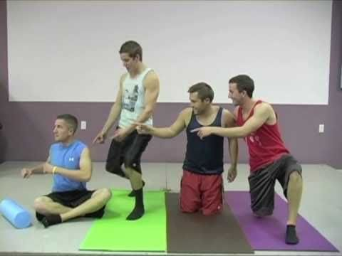 If guys were like girls... HILARIOUS. Totes the guy on the green mat.