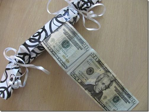 Creative Wedding Gift Ideas To Make: Creative Way To Give Money With Tutorial By Crafts Ala