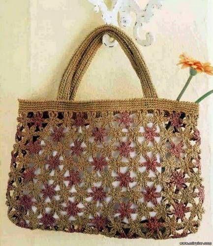 20 best images about maglia e uncinetto fai da te on pinterest for Schemi borse uncinetto