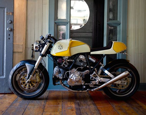 Walt Siegl Motorcycles – Leggero Nbr. 4/12 Yellow: DUCATI Cafe Racer