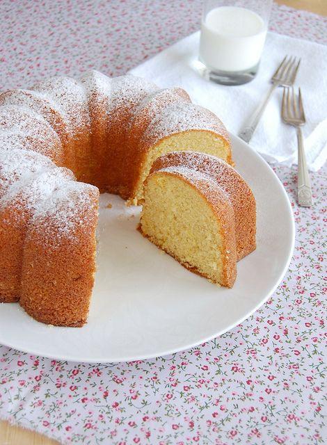 Orange almond cake / Bolo de amêndoa e laranja
