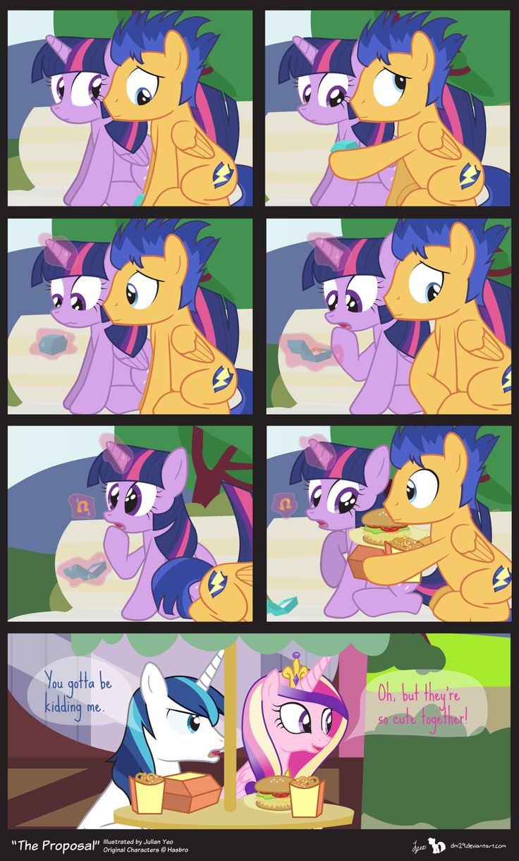 Comic Block: The Proposal by dm29.deviantart.com on @deviantART