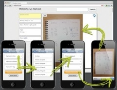 Use your smart phone to digitise your student's work and make an online assessment record. Use images, files or Videos from YouTube. Add comments and much more. You can also upload images of work through the website. Why not get your class to upload their own? Really excited about this!