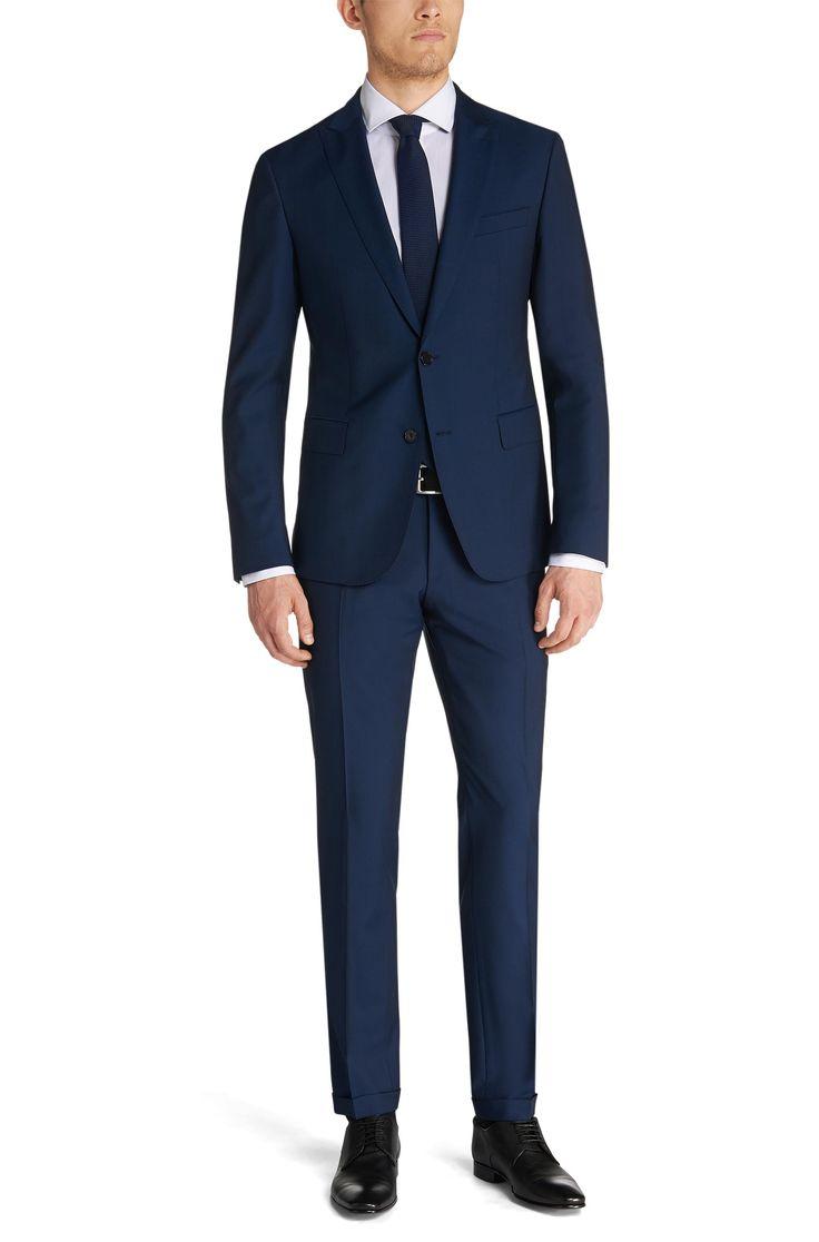 Extra Slim-Fit Anzug aus Schurwolle: 'Rayman/Wayne'