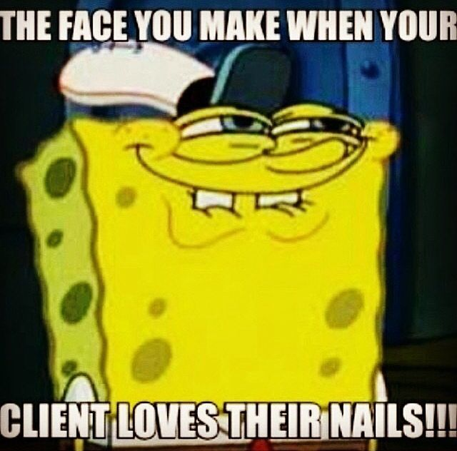 Funny Meme Nails : Best images about nail technician funnies sayings on