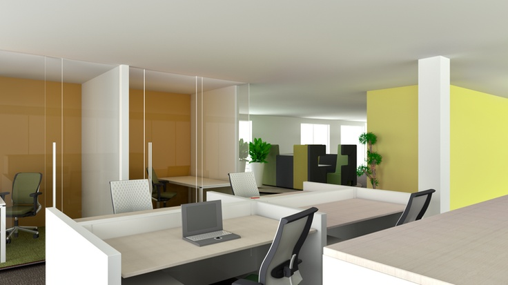 Open-space office by Ahrend