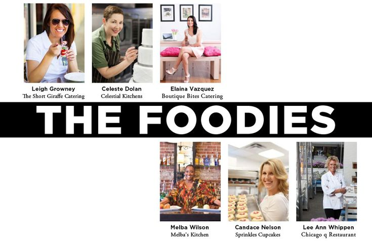 The Everygirl Yearbook // The Foodies // @Leigh Growney @Celestial Kitchens @Elaina Vazquez // @Melba's Restaurant @Sprinkles Cupcakes @Chicago q