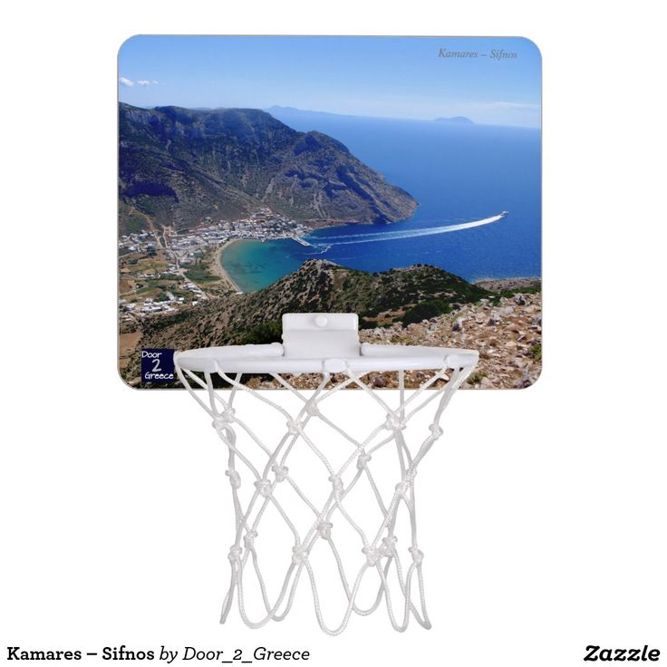 Kamares – Sifnos Mini Basketball Backboards