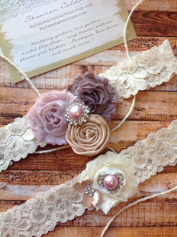 Alexa Garter Wedding Bridal By Fallenstarcoutureinc