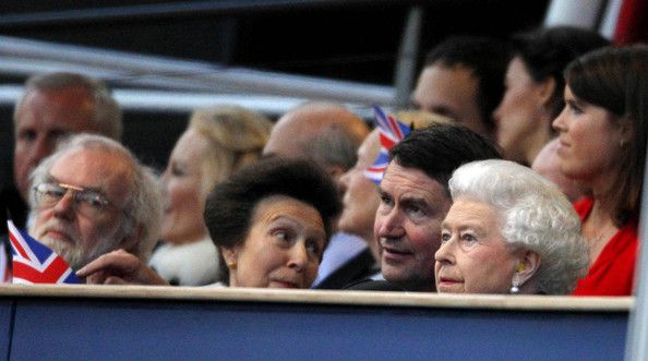 Timothy Laurence Photos - (L-R) Princess Anne, Princess Royal, Vice Admiral Timothy Laurence and Queen Elizabeth II attend the Diamond Jubilee, Buckingham Palace Concert June 04, 2012 in London, England. For only the second time in its history the UK celebrates the Diamond Jubilee of a monarch. Her Majesty Queen Elizabeth II celebrates the 60th anniversary of her ascension to the throne. Thousands of well-wishers from around the world have flocked to London to witness the spectacle of the…