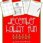 Use these activities for holiday homework, in-class breaks, or as an addition to your holiday