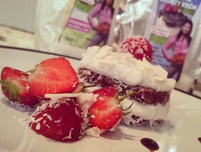 Kókuszos csokis desszert recept sütés nélkül (paleo és vegán) ~ Éhezésmentes Karcsúság Szafival