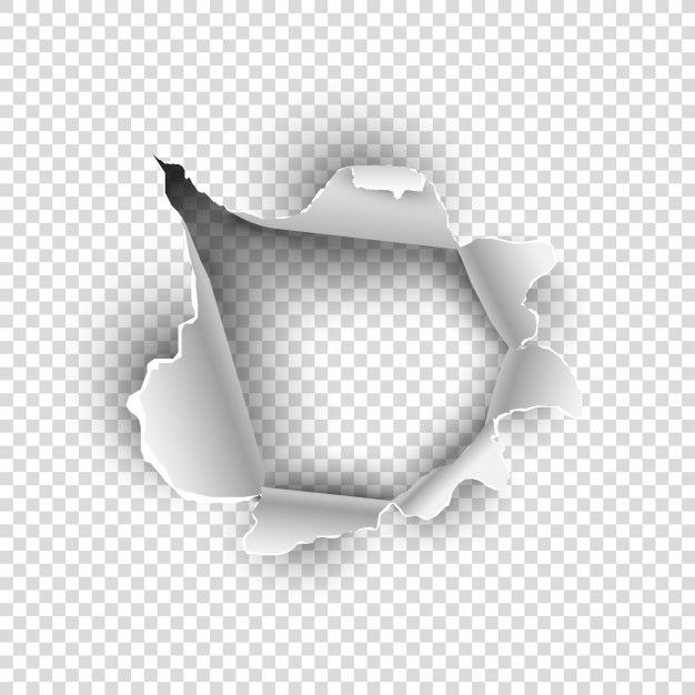Torn Paper Or Sheet Texture On Transparent Background In 2020