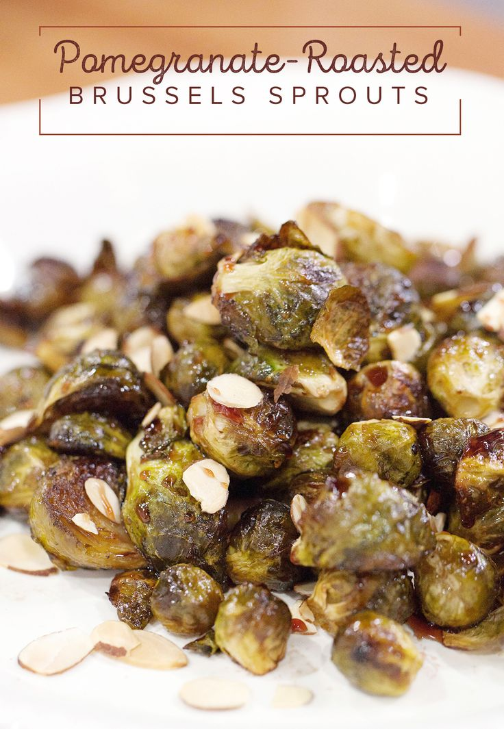 Vegetable Ideas For Dinner Party Part - 28: Pomegranate-Roasted Brussels Sprouts