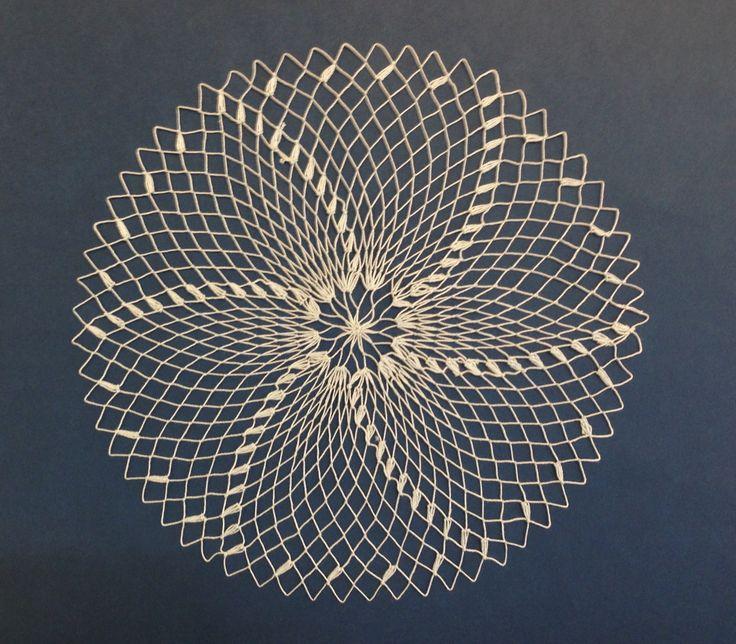 Filet lace / Doily