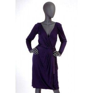 Alberta Ferretti - jedwabna sukienka - Fashioncode.pl