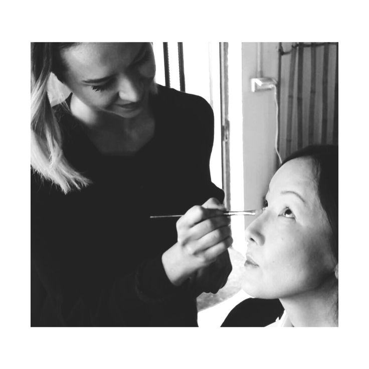 At work #commercial #video #makeupartist #makeupartistlife #bw #stylish #hairlook #photooftheday #hair #beauty #beautiful #instagood #pretty #swag  #girl #girls #design #model #styles #outfit  #makeup #crease #base #glow
