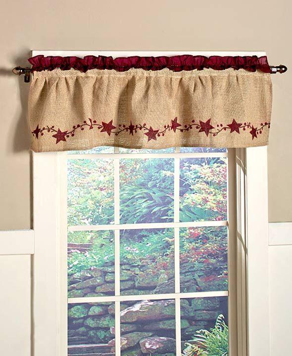 17 best ideas about window valances on pinterest window valances cornices valances and - Country kitchen valances for windows ...