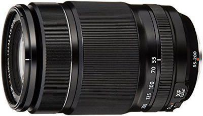 FUJIFILM telephoto zoom lens XF55-200mmF3.5-4.8RLMOIS P/O
