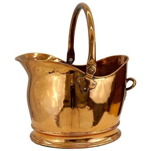 Victorian Copper Coal Scuttle Bucket  19 555 RUB    liked on Polyvore  featuring home. Best 25  Copper home accessories ideas on Pinterest   Copper