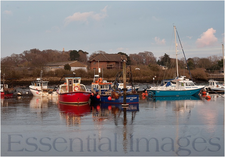 I love wandering along Lymington Quay when I have the time!  It makes me feel like I am on holiday even when I'm not! www.essentialimages.co.uk