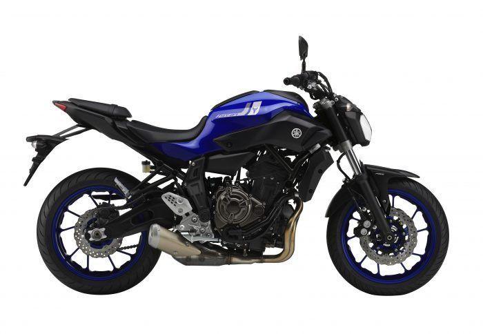 2017 Yamaha MT-07 Yamaha Blue