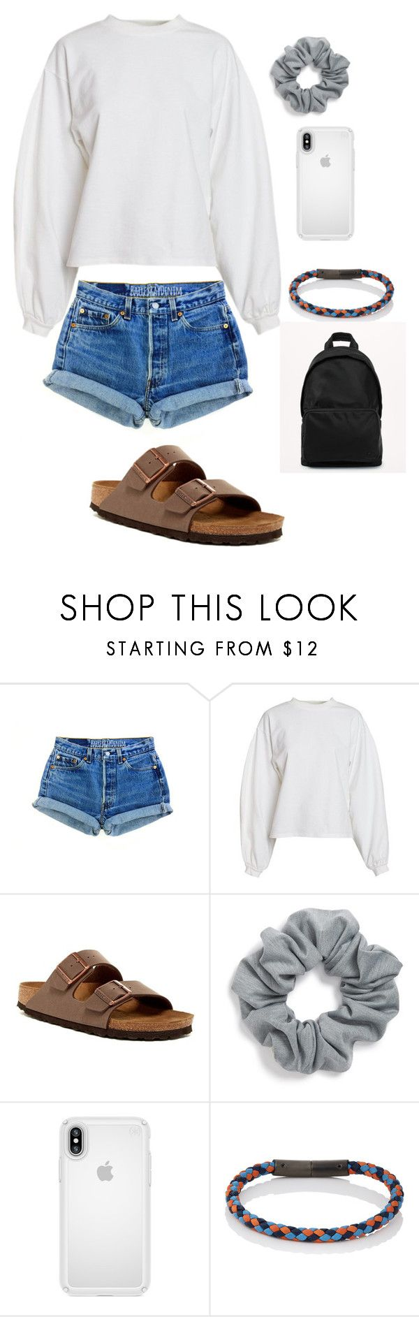 """summer"" by lagr on Polyvore featuring NLY Trend, Birkenstock, Natasha, Speck, Prada and lululemon"