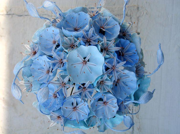 matrimonio-eco-friendly-ecologico-bouquet di carta-paper flowers-wedding-green