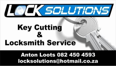 Lock Solutions is a Registered Locksmith and Key Cutting Company Situated at The Grove Centre in Nelspruit We Replace Most Broken Vehicle Key Casings