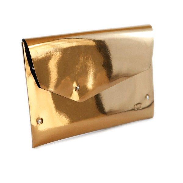 Clutch Dorado $800