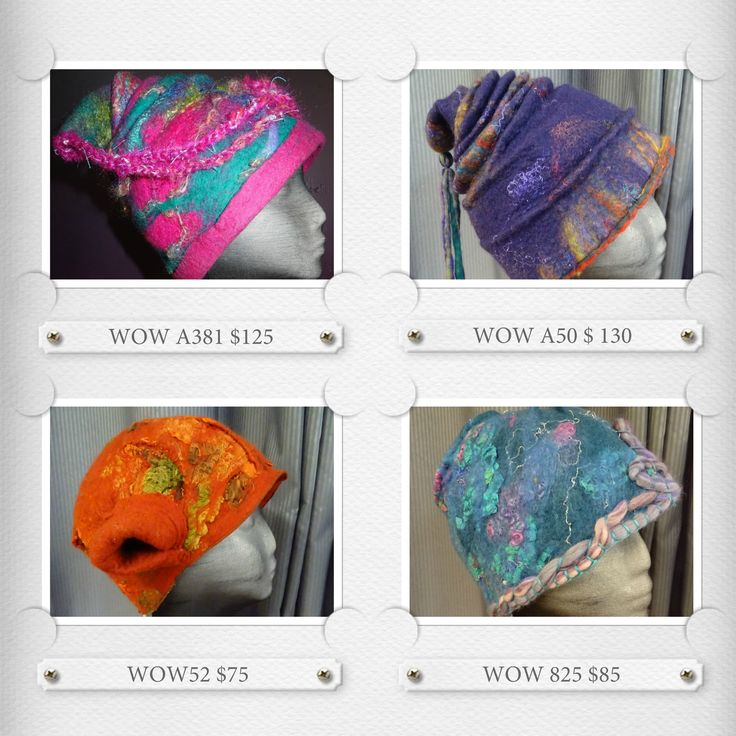 A selection of hat by #wowcreationsqld