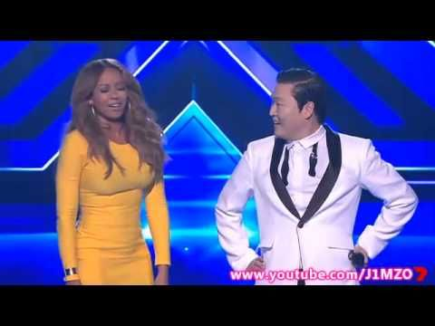 Great dancing Mel!! > Mel B Does The Gangnam Style Dance With PSY - The X Factor Australia 2012