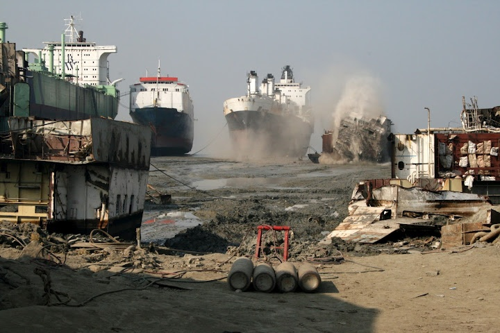 Chittagong Ship-Breaking Beach, Bangladesh: They Scrap Old Ships – By Hand