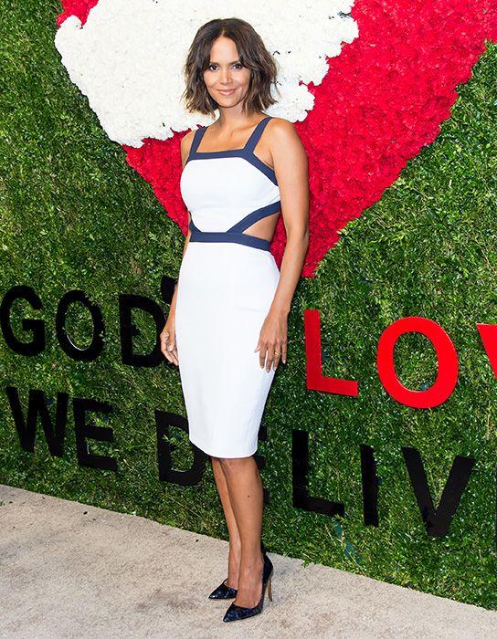Halle Berry looks sensational at Golden Heart Awards
