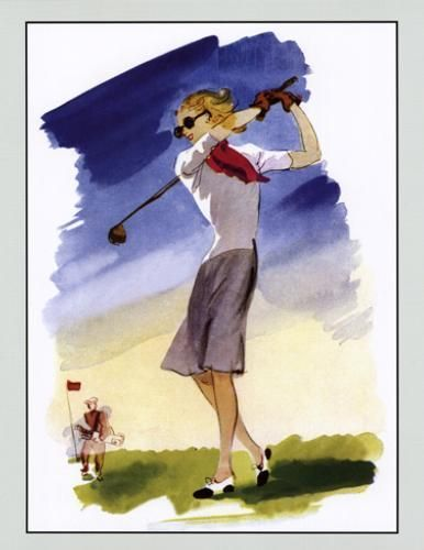 vintage golf clip art - photo #24