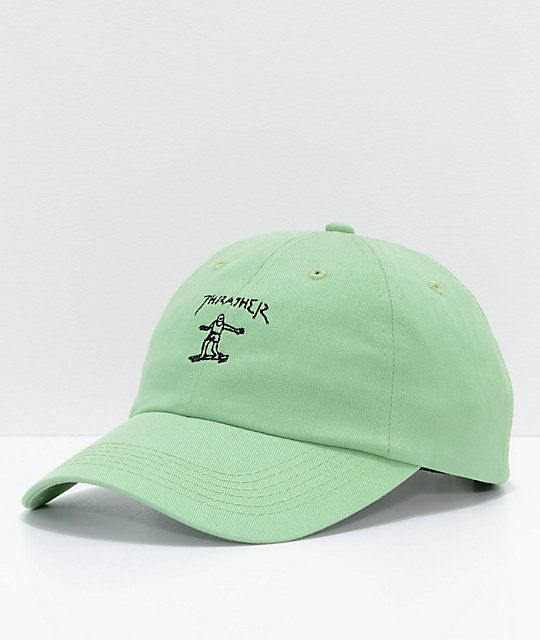 75f54eae0a2 Thrasher Gonz Mint Old Timer Hat in 2019