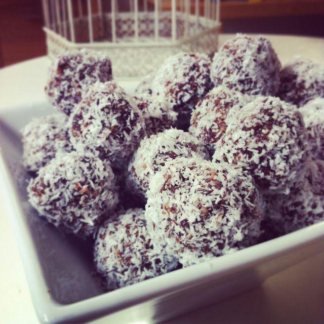 Raw Cacao Bliss Balls - Carlis Clan