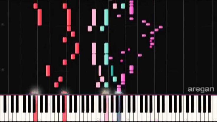 Hatsune Miku - Blindfold code 『メカクシコード』 | MIDI piano.
