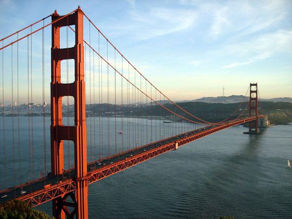 Мост Золотые Ворота в Сан-Франциско - Golden Gate
