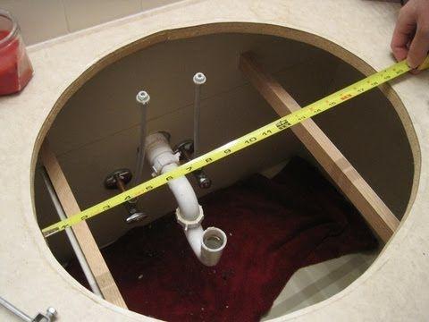 Bathroom Sinks Youtube best 25+ drop in sink ideas on pinterest   double sinks, diy sink